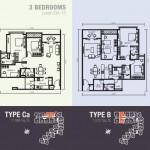 3bedroom 3+1bedrooms