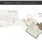 residential tower above 360 floor plan