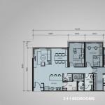 type D1 - 3+1bedrooms