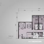 type E1 - 4+1bedrooms